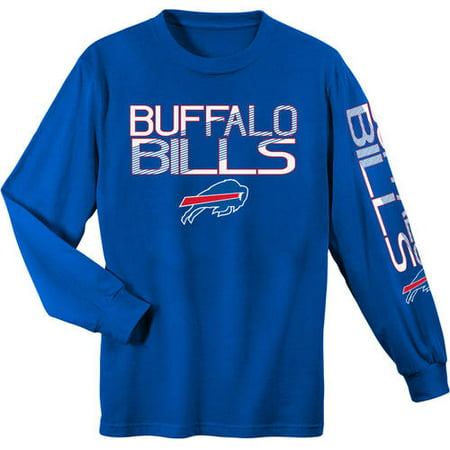buffalo bills long sleeve tee youth