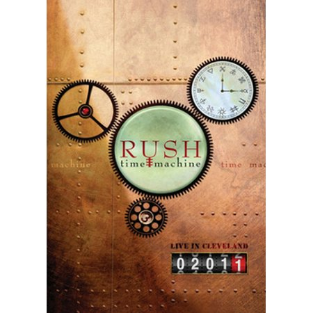 2011 Dvd - Rush: Time Machine 2011 Live In Cleveland (DVD)