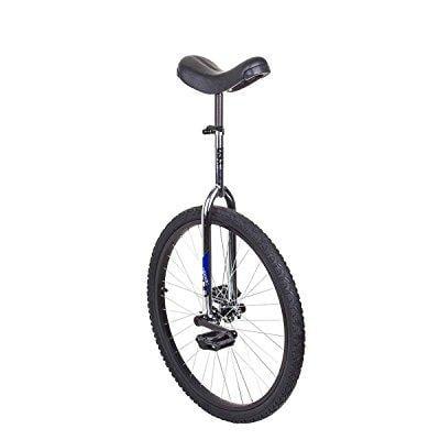sun 26 inch classic chrome/black unicycle