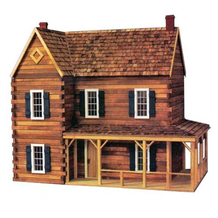 Real Good Toys Ponderosa Dollhouse Kit - 1 Inch Scale