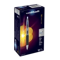 uni-ball 207 Retractable Gel Pens, Bold Point (1.0mm), Blue, 12 Count