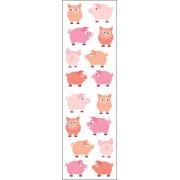 Mrs. Grossman's Stickers-Chubby Pigs