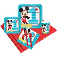 Disney Mickey Mouse 1st Birthday 24-Guest Party Pack