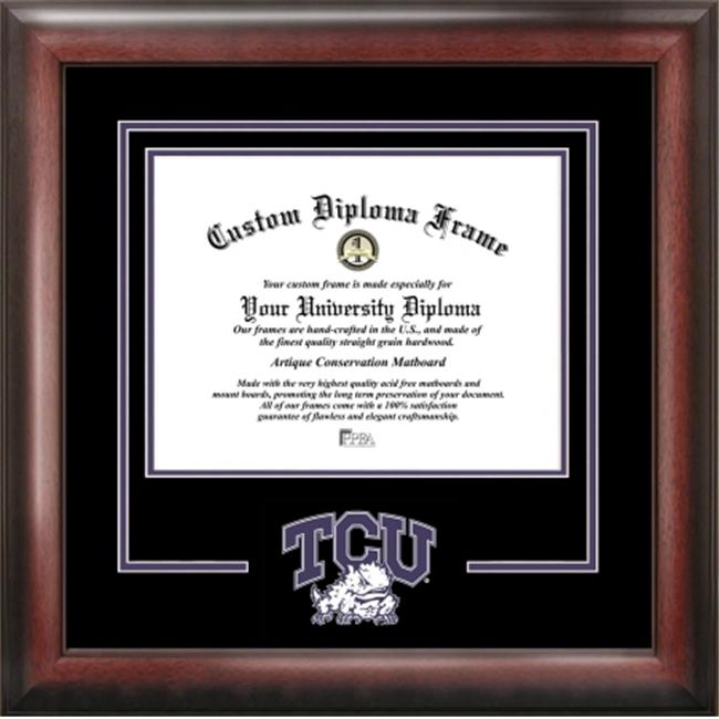 Texas Christian University Spirit Diploma Frame