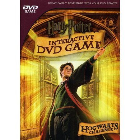 Harry Potter Interactive Dvd Game  Hogwarts Challenge