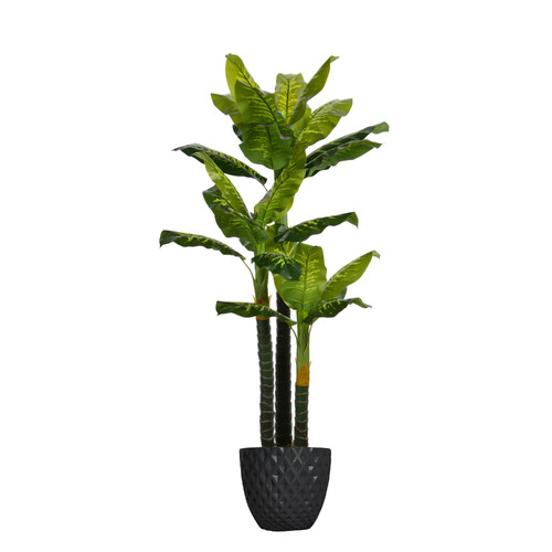 Bloomsbury Market Real Touch Floor Evergreen Tree In Pot Walmart Com