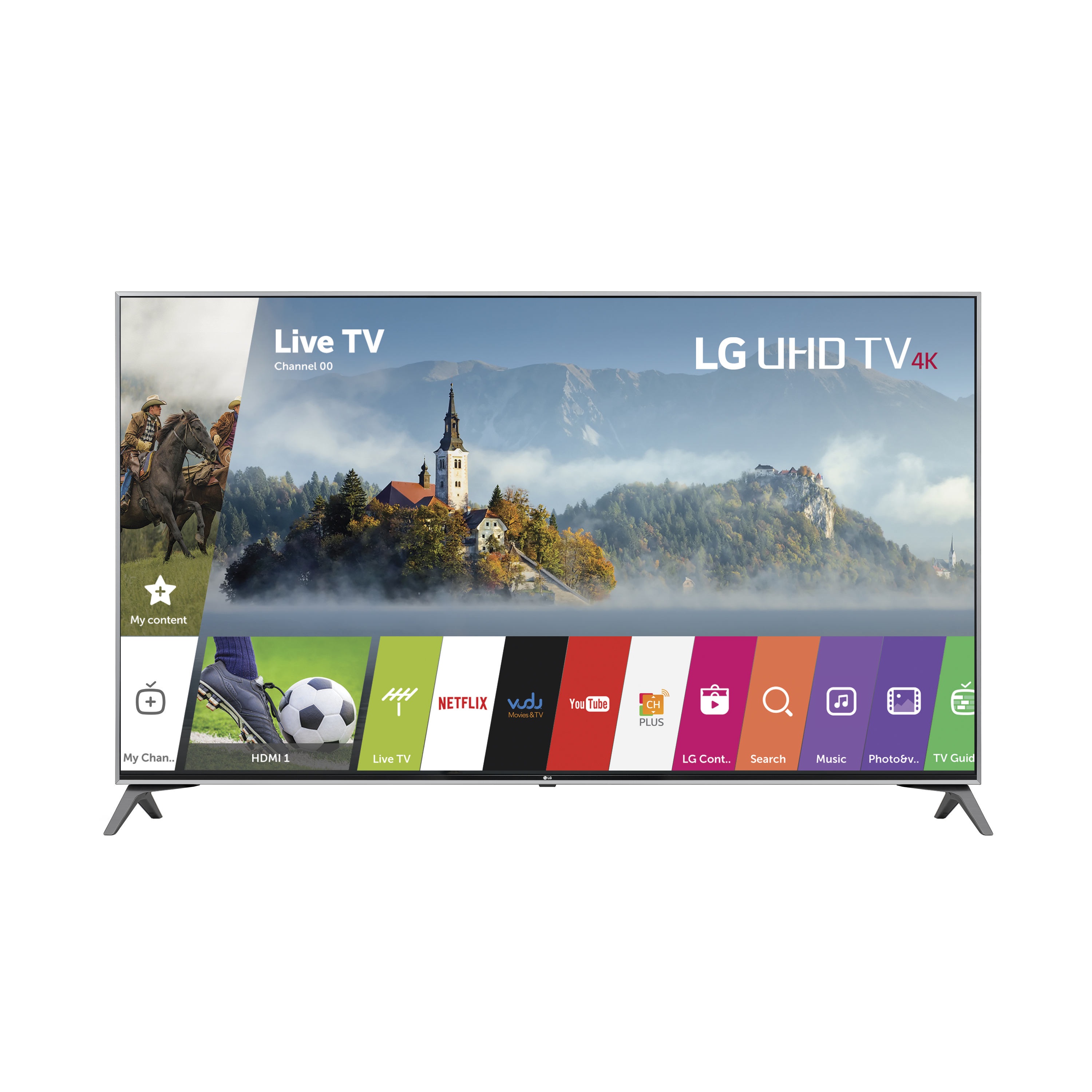 "LG 65"" Class 4K (2160P) Ultra HD Smart LED TV (65UJ7700)"