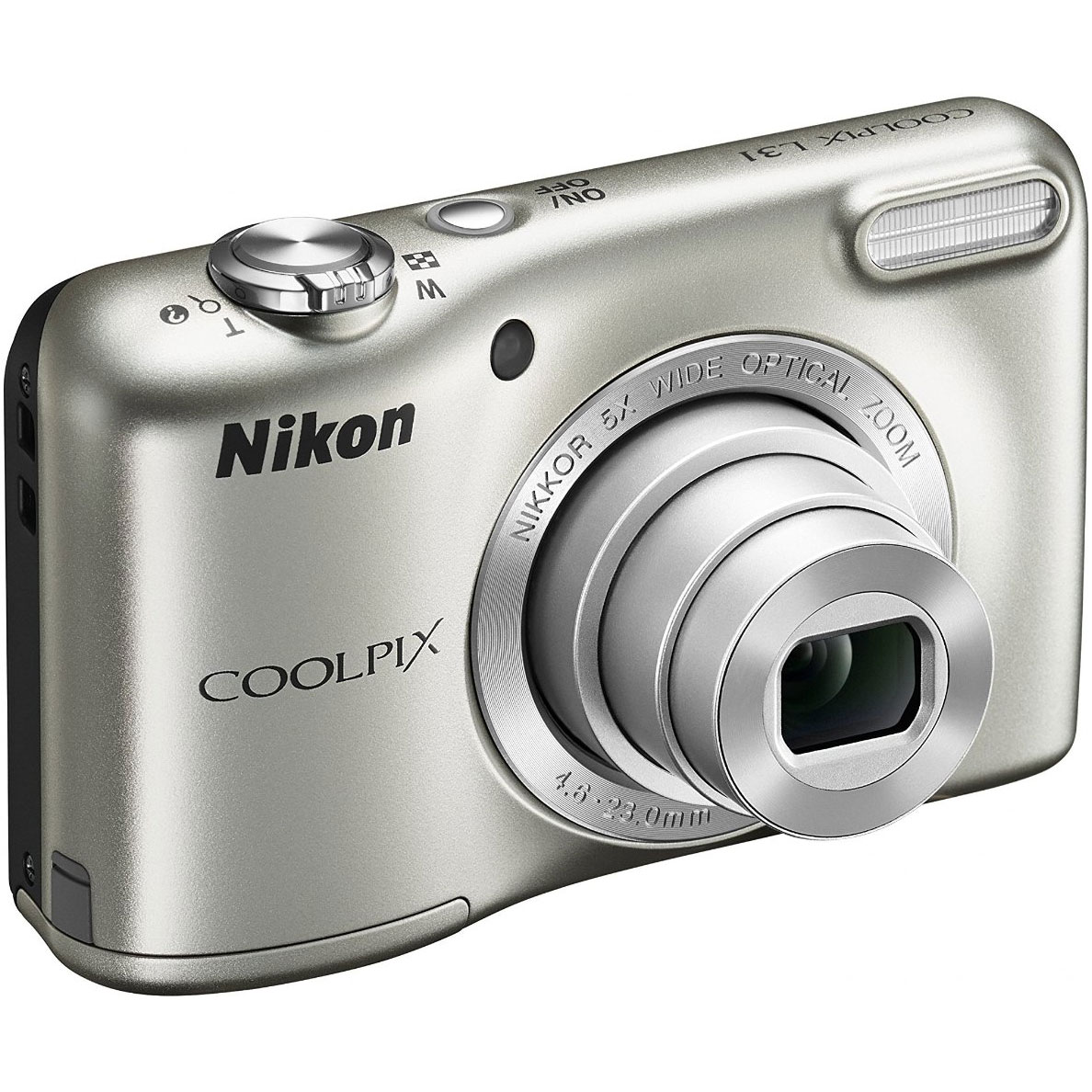 Nikon COOLPIX L31 16.1MP Compact Digital Camera 5x Optical Zoom and 2.7-inch