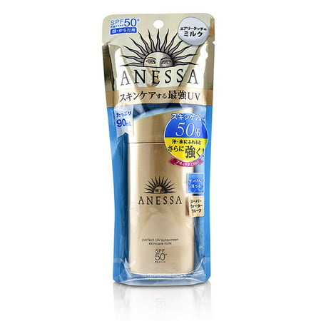 Shiseido Anessa Perfect UV Sunscreen Skincare Milk SPF50+ PA++++ 90ml/3oz