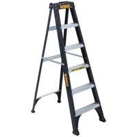 DEWALT Stepladder,Fg,6 ft.,250 lb. DXL3110-06