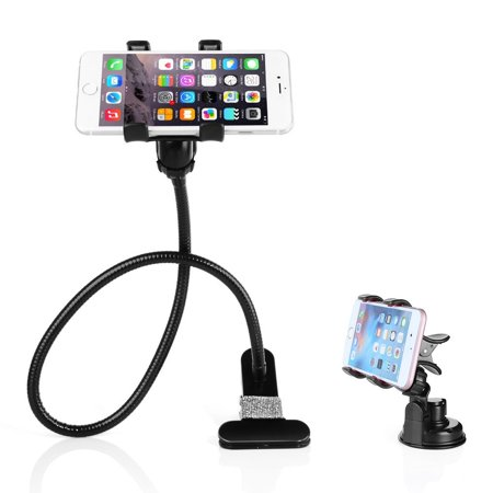 sneakers for cheap d5110 b3396 BESTEK Gooseneck Cell Phone Holder + Car Phone Mount, Fits iPhone 7s/7  plus/ 6s/ 6/ 6plus/ 5S Galaxy S3 S2/ Huawei and 1.18