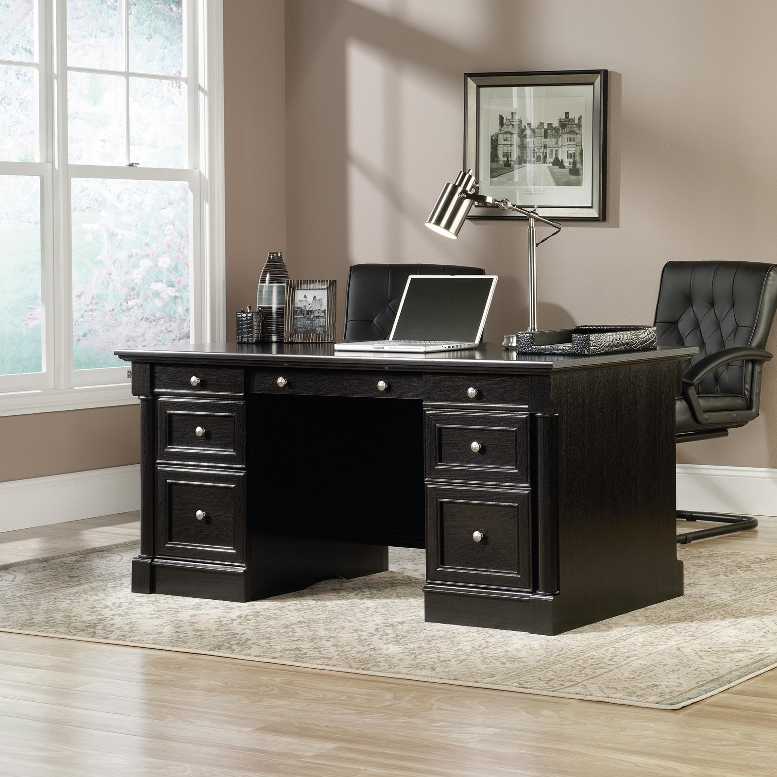 Sauder Avenue Eight Executive Desk by Sauder