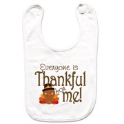 fdea53be977e 7 ate 9 Apparel Unisex Thanksgiving Bib for Babies -