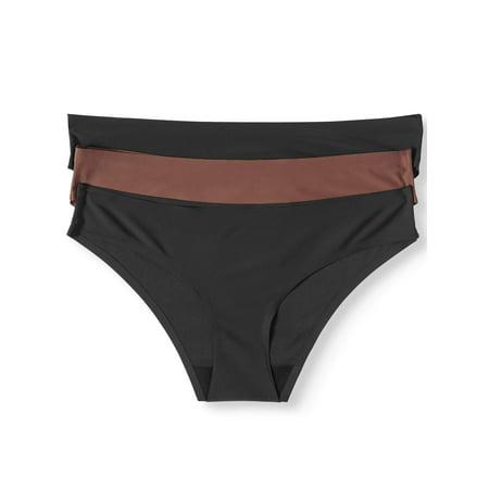 b4ad8d5fb10 Honeydew Intimates - Women s Skinz 3-Pack Hipster - Walmart.com