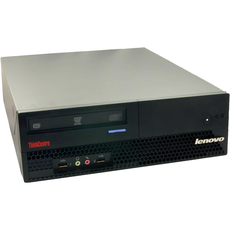 Refurbished IBM Black M57 Slim Desktop PC Intel Dual Core Processor, 2GB Memory, 80 Hard Drive and Windows 10 Home (Monitor Not Included)