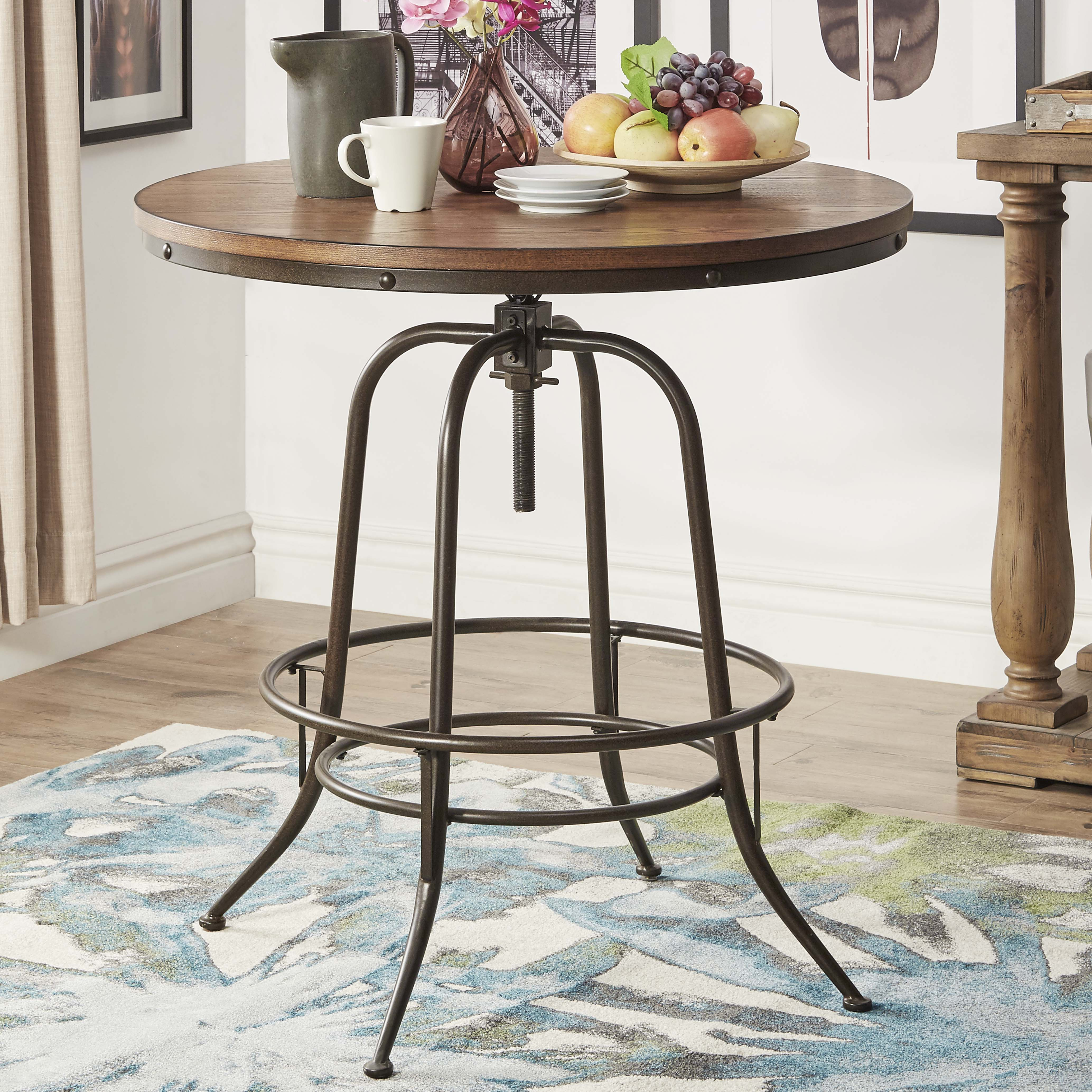 Weston Home Clayton Round Counter Height Table