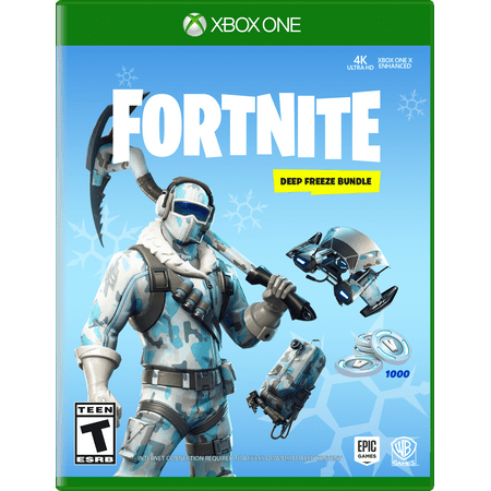 FORTNITE Deep Freeze Bundle, Warner, Xbox One, (Top Games For Xbox 360 Right Now)