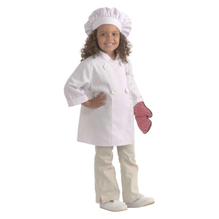 Brand New World Career Costume, Chef, Ages 3-6, Multicolor