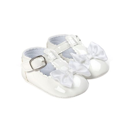 BOBORA - BOBORA Summer Toddler Baby Girl Bow Anti-slip Crib Shoes Soft Sole  Prewalker 0-18 Months - Walmart.com e8c69e67ad22