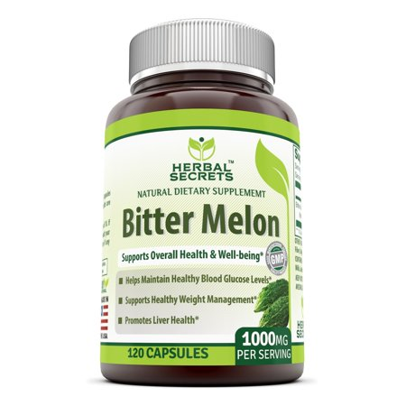 Yorkshire Bitter - Herbal Secrets Bitter Melon 500 Mg 120 Capsules