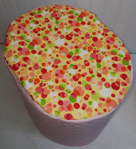 Polka Dots Cover Compatible with Keurig Coffee Brewing Systems (Pink, K10/K15/B31 Mini)