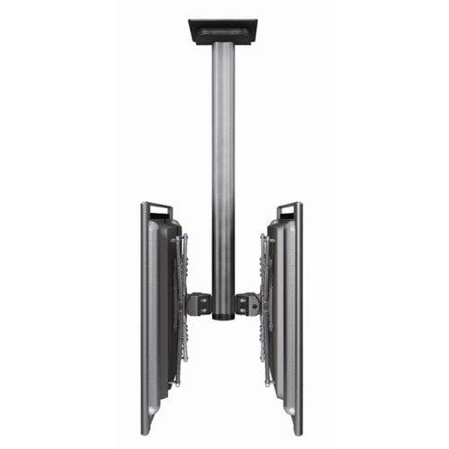 Bretford Manufacturing Inc Dual Monitor Universal Flat Panel Ceiling Mount (30'' - 60'' Screens)