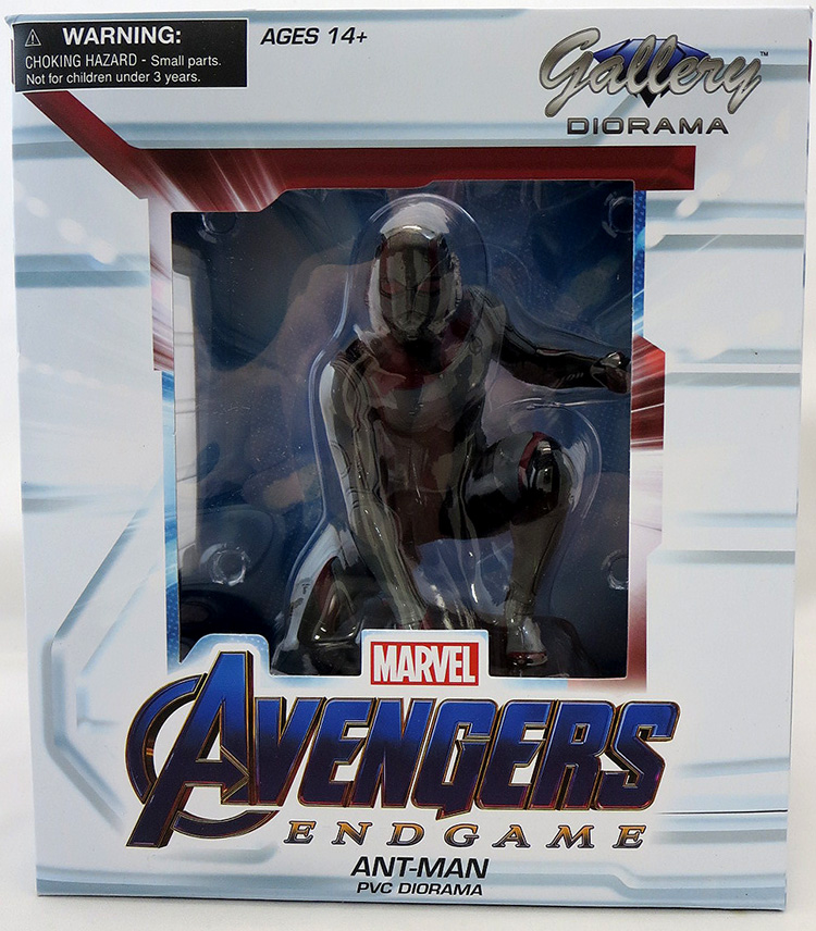 DIAMOND SELECT TOYS Marvel Gallery Avengers Endgame Quantum Realm Ant-Man PVC Figure