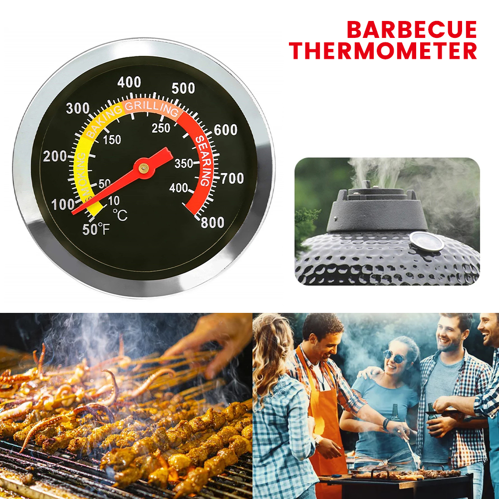 Meat Poultry Food Thermometer BBQ Oven Temperature Cooking Probe Stainless Steel