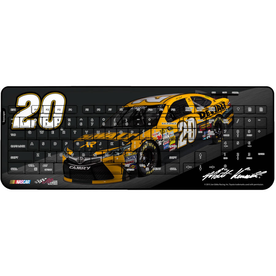 Matt Kenseth #2Wireless USB Keyboard