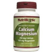 Calcium/Magnesium Nutribiotic 100 Caps