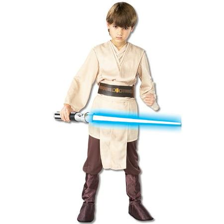 Boy's Deluxe Jedi Knight Halloween Costume - Star Wars (Child's Jedi Costume Jedi Knight Star Wars)