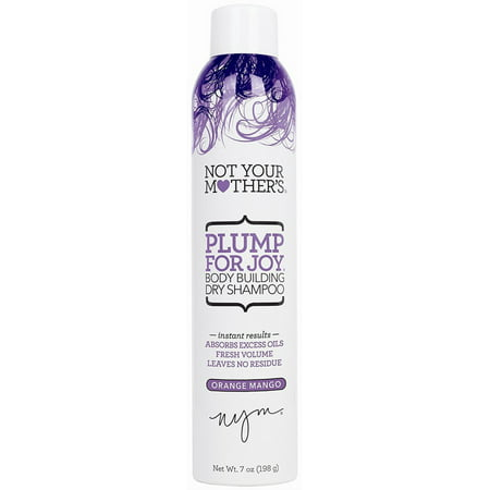 Not Your Mothers Plump For Joy Body Building Dry Shampoo  Orange Mango 7 Oz