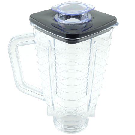 5-Cup Plastic Blender Jar with Lid for Oster Blenders Replacement Part 089 ()