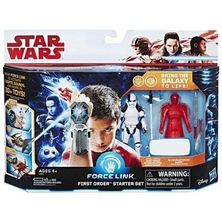 Star Wars Force Link First Order Starter Set  Stormtrooper Executuioner   Elite Praetorian Guard