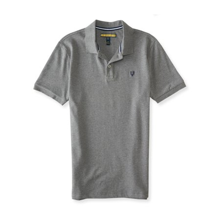 025572772 Aeropostale Mens Premium Stretch Rugby Polo Shirt 053 S - image 1 of 1 ...