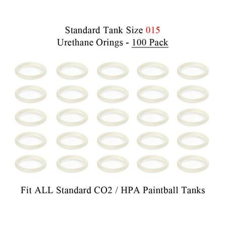 Urethane Tank O-rings (Maddog Paintball Urethane Tank O-rings (100)