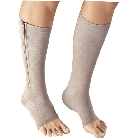 EasyComforts   Magnetic Zipper Compression Socks ()