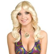 70's Disco Doll Blonde Adult Wig