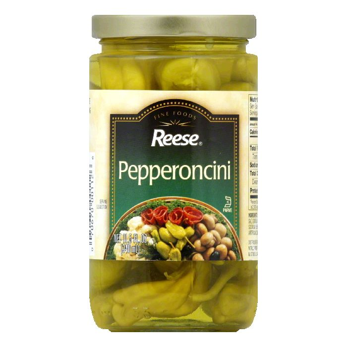 Reese Pepperoncini, 11.5 OZ (Pack of 12)