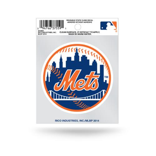 Rico Small Static Cling - MLB New York Mets