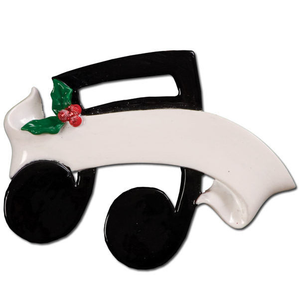 Musical Note Teacher Player Personalize It Yourself Christmas Tree Ornament