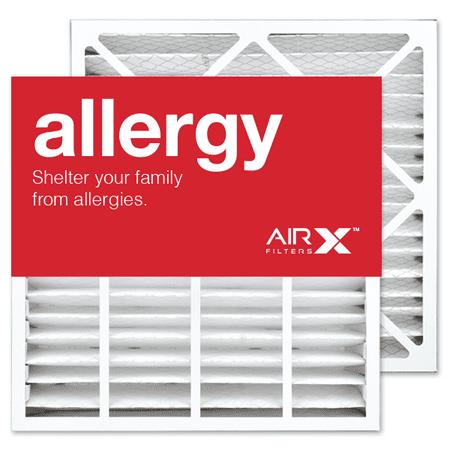 Merv 11 Bryant Replacement - AIRx Filters Allergy 19x20x4 Replacement Air Filter MERV 11 for Bryant Carrier FAIC0021A02 FAIC002IA FILBBFNC0021 FILCCFNC0021 FILXXFNC-0021, 2-Pack