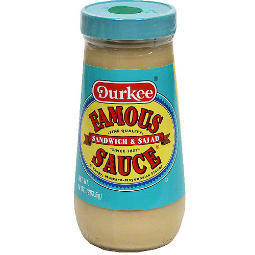 Durkee Sandwich & Salad Famous Sauce, 10 oz (Pack of 6)