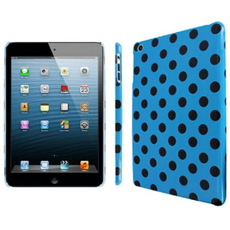 iPad Mini Case, Empire Slim Fit Teal and Brown Polka Dot Case for Apple iPad mini