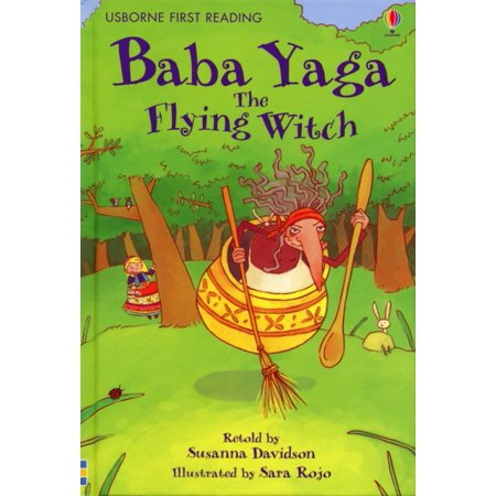 Animated Flying Witch (Baba Yaga, the Flying Witch)
