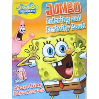 spongebob coloring & activity book d