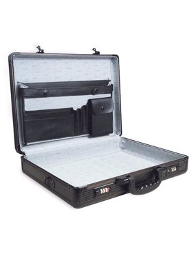 SPC-941G Black 17.5 x 4 x 13 Aluminum Briefcase Multi-Colored