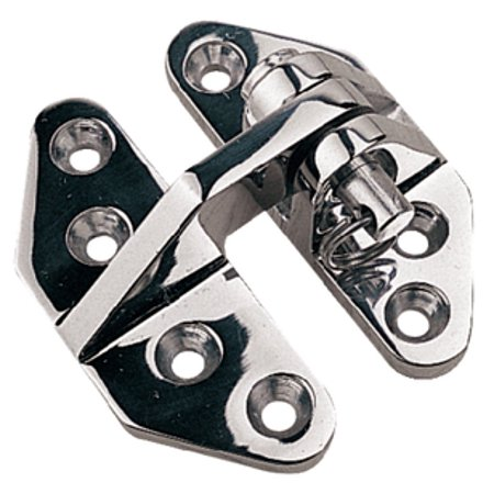 Hatch Hinge (SeaDog 205280 Hatch Hinge | Investment Cast 316 Stainless Steel | #10 Fastener | 2-7/8