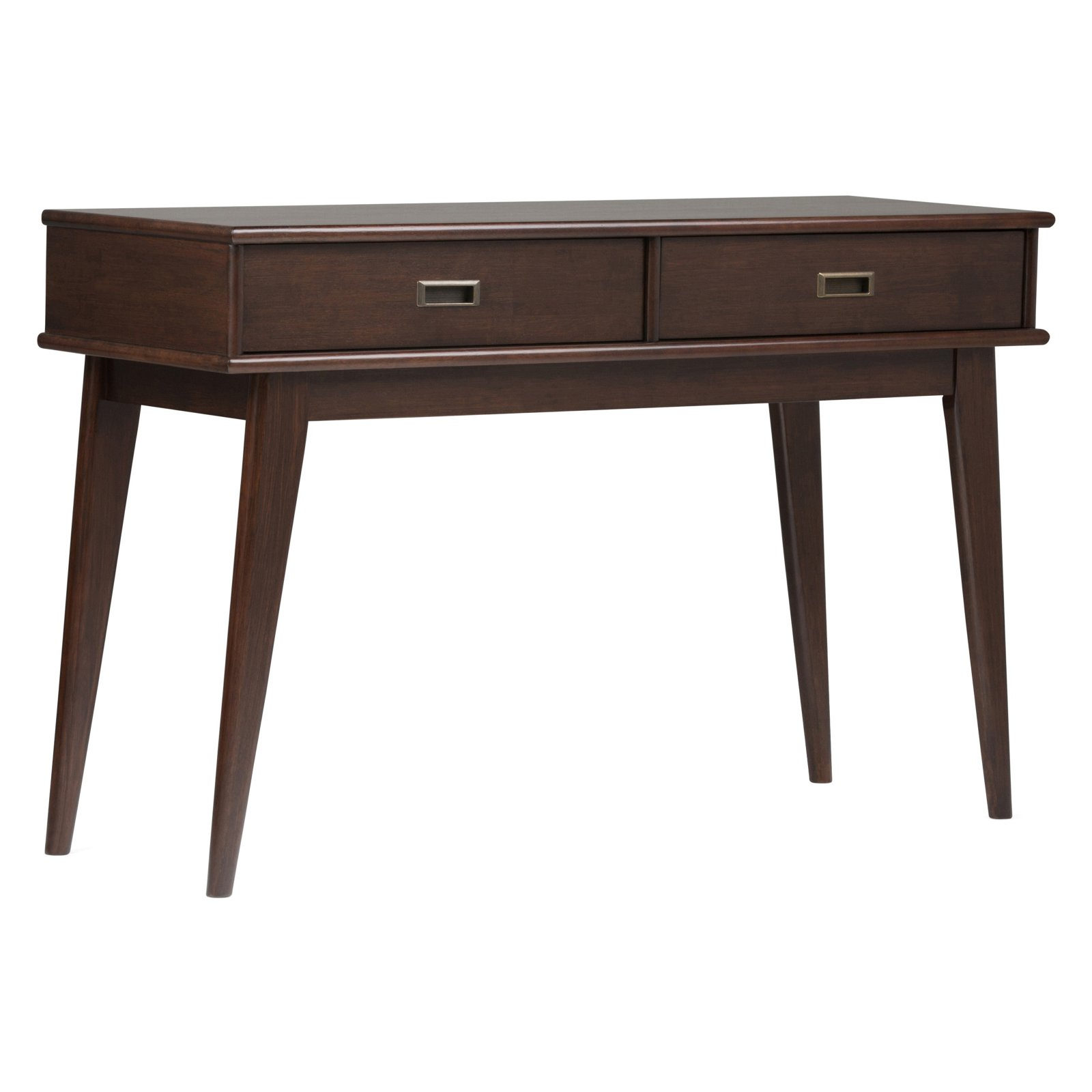 Simpli Home Draper Mid Century Console Sofa Table