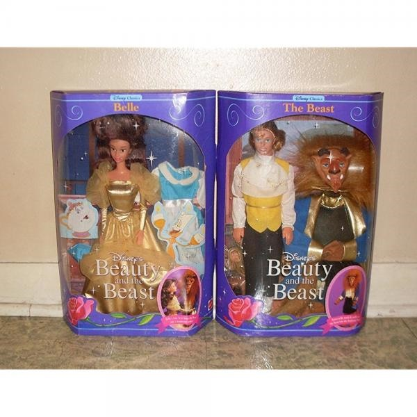 Disney Beauty and the Beast Gold Belle doll